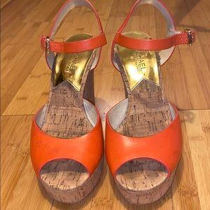 Women's High Block-Heel Platform Sandals